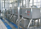 High shear emulsification tank